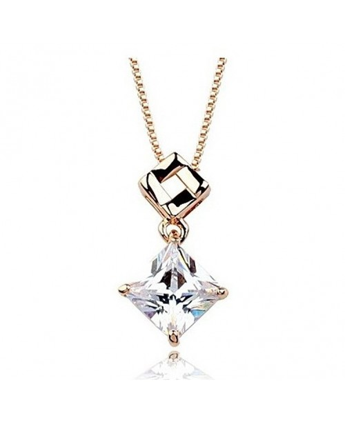 Dual Harmony Diamond Necklace