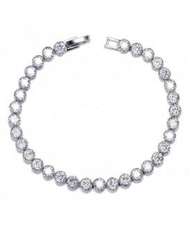 Angelica Round Stones Tennis Bracelet