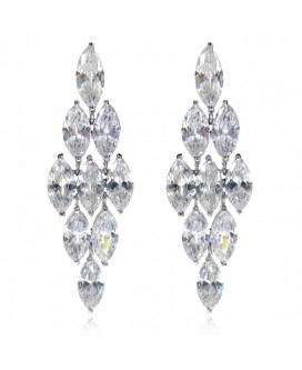 Chandelier Cascading Drop Earrings