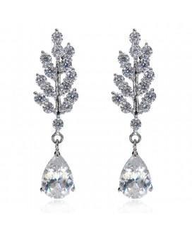 Branching Stars Cubic Zirconia Earrings