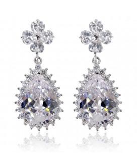 Lux Lucks Clover Drop Earrings