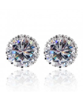 Paris Kiss Stud Earrings 2ct