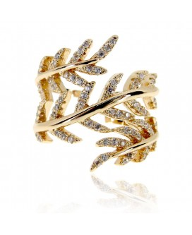 Golden Wreath Ring