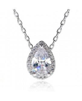 Water Drop Pear Cut Necklace