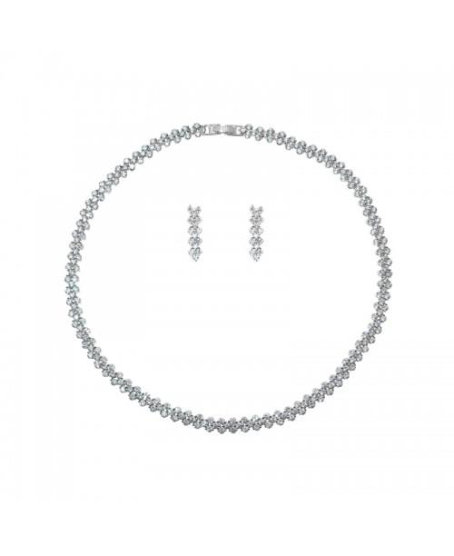Maxima Rome Necklace & Earrings Set